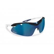 Occhiali per Ciclismo, Running e MTB con lente intercambiabile, antifog, nasello regolabile - Bertoni Italy AF900B