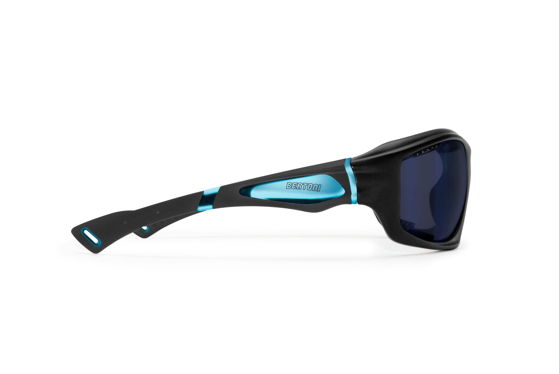 Occhiali Sportivi prodotti in leggerissimo TPX per Ciclismo MTB Running - Fori di Ventilazione Forzata - Bertoni italy - FT1000D