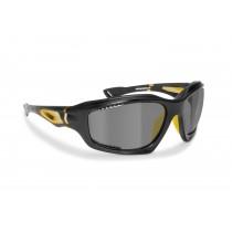 Occhiali Sportivi Fotocromatici Polarizzati Antivento Avvolgenti in TPX Antiurto per Ciclismo MTB Bici Running - P1000FTC Bertoni Italy