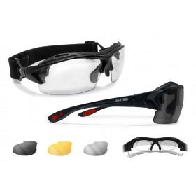 Occhiali Ciclismo da Vista AF399D (nero lucido)